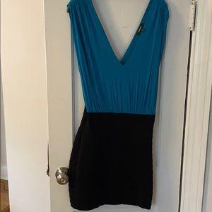 Express Fitted Mini Dress